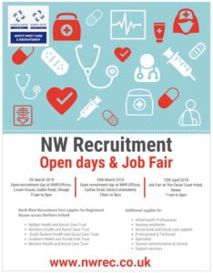 Poster for open days